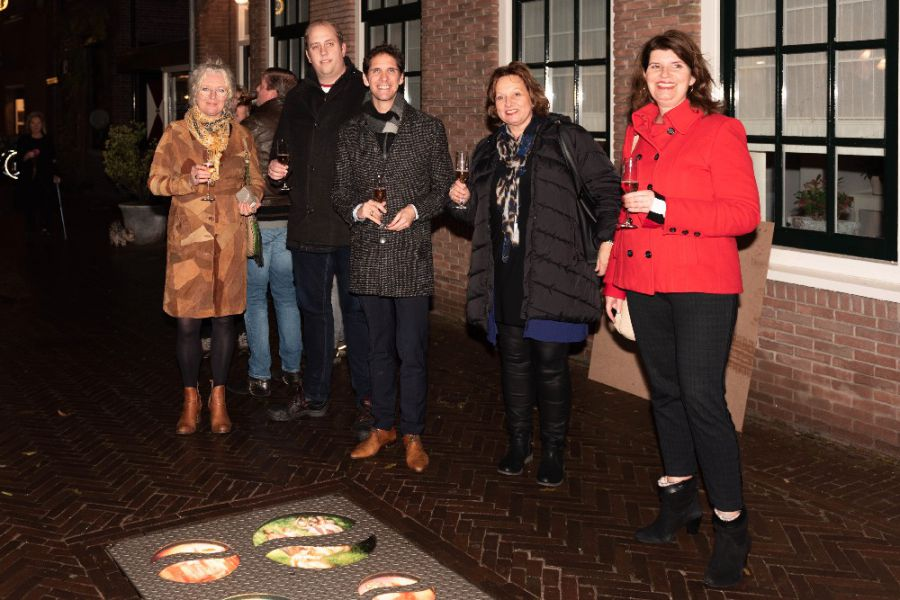 'Walk of History' geopend in de Kerkstraat.