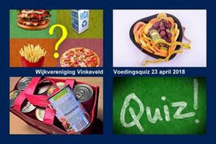 23 april, Voedingsquiz in de Wijkjutter