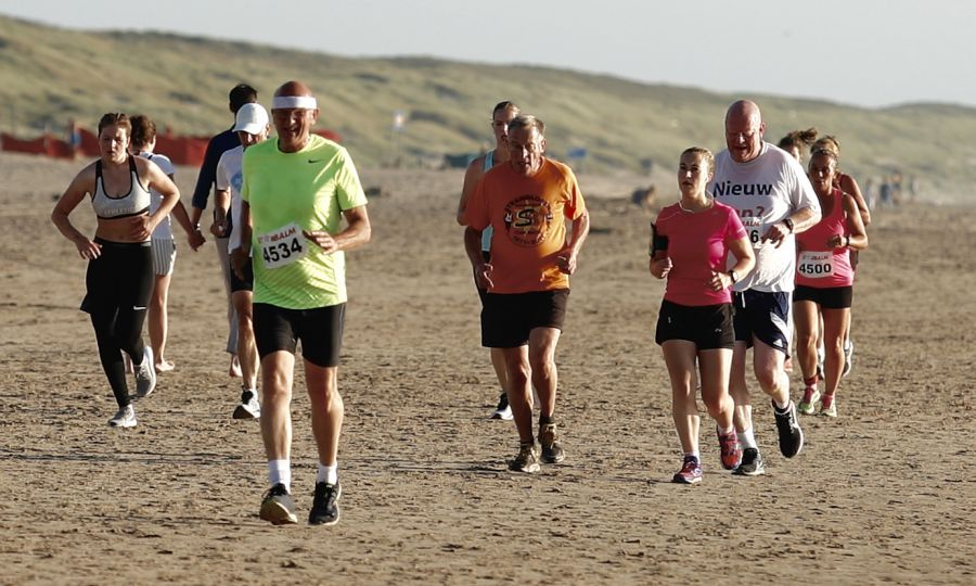 Virtuele Strandlopen groot succes.